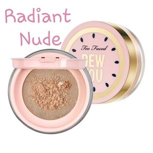 🔥NEW Too Faced Dew You Setting Powder Radiant Nud